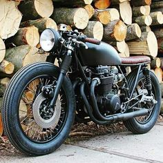 Honda CB550 by Ironwood Custom Motorcycles
