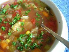 Sport et Nutrition  : Les soupes pour perdre le poids