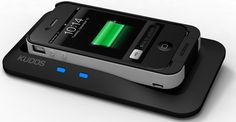 Kudos Power Charges Your iPhone without Wires