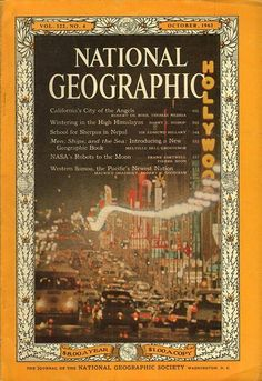 National Geographic October 1962