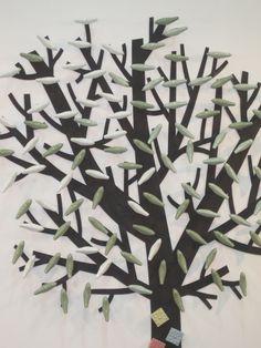도자기 공예로 만든 작품, 나뭇잎이 도자기로 탄생하다~