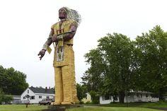 Gogebic County: Hiawatha Statue
