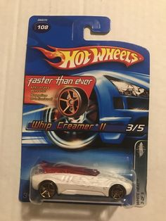 Hot Wheels White Heat Series 3/5 Whip Creamer II White Faster Than Ever | Toys & Hobbies, Diecast & Toy Vehicles, Cars, Trucks & Vans | eBay!