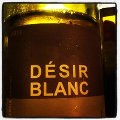 Wine from Languedoc in France blend of grenache blanc and roussane