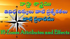 Learn vastu shastra in Telugu 16 zones Importance