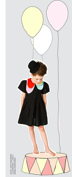 Lopsided Collar Dress | Amazing Children's Clothes You Wish Came In Adult Sizes