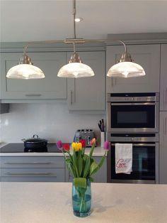 21 Ideas For Kitchen Grey Cupboards Farrow Ball Rustic Kitchen Cabinets, Rustic Kitchen Design, Home Decor Kitchen, Kitchen Units, Kitchen Furniture, Kitchen Ideas, Studio Kitchen, Kitchen Inspiration, Kitchen Designs