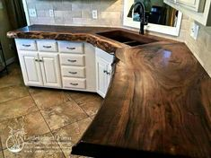 I absolutely need wood countertops when i buy a house.