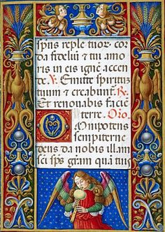 1505 Use Of Rome Facsimile Book Of Hours