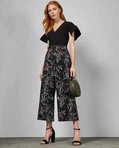 f6951cfdb2 Ted Baker DARCYY Fortune culotte jumpsuit