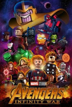 Lego Avengers Infinity War by mnap73