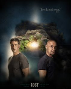 """LOST Poster """"The End"""""""