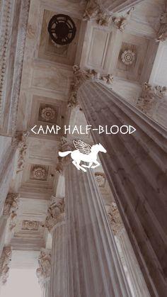camp half-blood phone wallpaper/lockscreen aesthetic