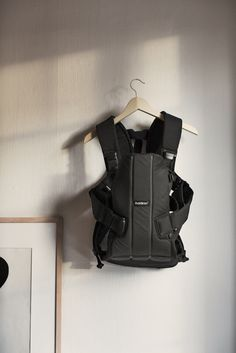 Simplicity with black Baby Carrier We from BABYBJÖRN.