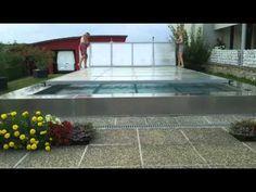 """COMPACT GATE® Patent - Brevettato """"cancelli automatici per edilizia innovativa"""" Tv Series Free, Pool Water Features, Swimming Pools, Gate, Pergola, Villa, Cover, Outdoor Decor, Gardening"""