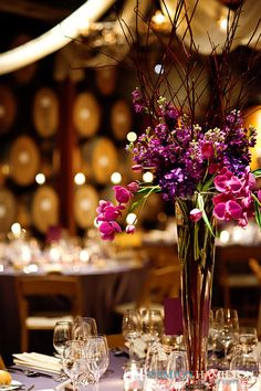 V. Sattui Winery Wedding: Arrangement