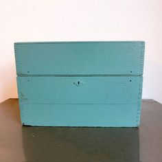 Country Turquoise Trunk, $104, now featured on Fab.