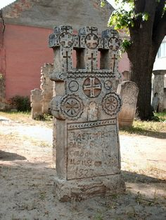 Discover the world through photos. Last Exile, Serbian, 14th Century, Crucifix, Cemetery, Romania, Medieval, Sculpture, Stone