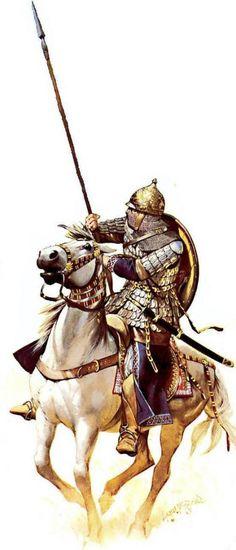 cavalier ghulam de perse sous les seldjoukide au cours de la 3eme croisade