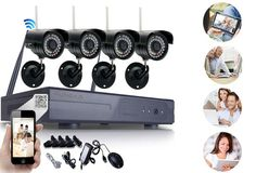 HD Wireless Security Camera System with 4 Night Vision Cameras #yugsterhotdeals