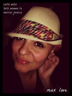 #46Momma LOVE! The Momma fedora -- $5 from the sale of each hat benefits the St. Baldrick's Foundation. www.givemaxlove.org