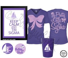 Tri Sigma Gift Set from Boutique Greek!