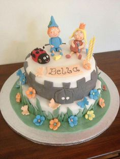 My Magic Kingdom cake, Ben, Holly and Gaston :-)
