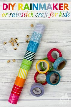 learn how to make a rainstick