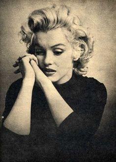 Marilyn Monroe ... just classic, feminine ... my role model