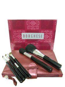 Borghese Holiday Brush Set by Borghese. $44.95. Holiday brush Set. contains 6 brushes and bag