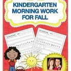Looking for meaningful morning work for your students that is consistent, systematic, and engages students in both literacy and math practice? This...