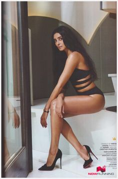 Pernia Qureshi's shoot with GQ Magazine