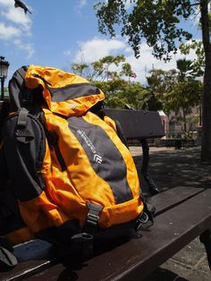 Our Gama pack 8.0 chills out in Puerto Rico.