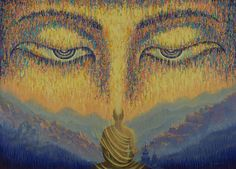 Buddha Print featuring the painting Nirvana by Vrindavan Das