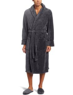 568b56ddd1 Joseph Abboud Men s Fleece Robe with Slipper Set