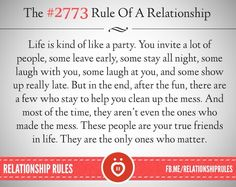 The #2773 Rule of a Relationship