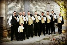 groom and ring bearer | groom, groomsmen and ring bearer