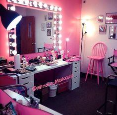Makeup studio! @Makeupby_Mindie @Mindie_Makeup #MakeupbyMindie