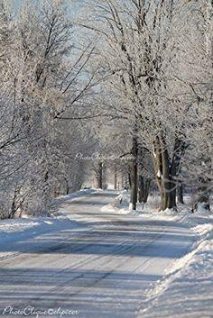 Fine Art Photography Winter Landscape Country Road in Winter Enchanting Winter Wonderland Scene Rural High Res Print Famous Landscape Paintings, Landscape Artwork, Landscape Drawings, Landscape Illustration, Cool Landscapes, Watercolor Landscape, Beautiful Landscapes, Landscape Concept, Fantasy Landscape