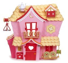 Look at this Lalaloopsy Mini Sew Sweet House on today! Picnic Table With Umbrella, Playsets For Sale, Lalaloopsy Mini, Rope Basket, Games For Girls, Funny Art, Toy Store, Animal Design, Doll Accessories