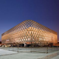 French Pavilion at Shanghai Expo 2010 by Jacques Ferrier Architectures - Dezeen