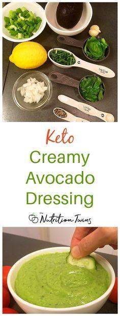 Creamy Avocado Dressing – Only 25 Calories Homemade Creamy Keto Avocado Dressing Recipe – Only 25 Calories Nutrition Tips, Fitness Nutrition, Fitness Tips, Fitness Motivation, Healthy Nutrition, Champion Nutrition, Nutrition Products, Nutrition Activities, Whole 30