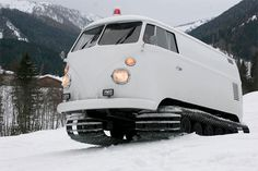 Huckberry | Vw Snowcat Adventuremobile