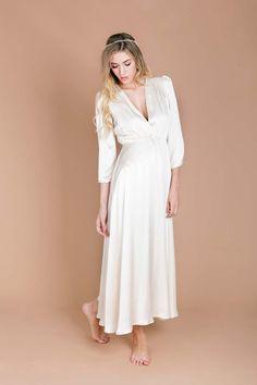 Laidback wedding dress from Minna Bridal