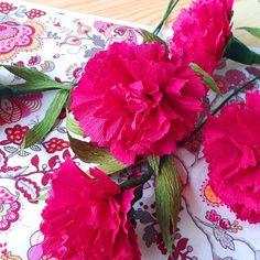 Flora Nordica (@_flora__nordica_) • Фотографије и видео записи на услузи Instagram Flora, Crepe Paper, Carnations, Paper Art, Instagram, Papercraft, Plants