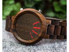 まるでアート!ナチュラルなのに近未来的な木製スマートウォッチが斬新 | Techable(テッカブル)
