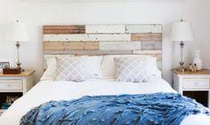 Čelo postele dodá ložnici tvář. Můžete si ho vyrobit sami. Jak?  | Living.cz