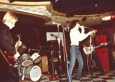 Cinecyde at Bookies Club 870, Detroit, Michigan. 1979. L to R Jim Olenski, Gary Reichel, Clay Albertson. Not pictured, Rodger Wesch, drums. #cinecyde #bookiesclub870 #detroit #detroitpunk #tremorrecords