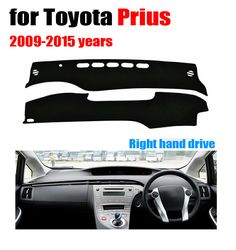 Car dashboard cover mat for Toyota Prius 2009-2015 years Right hand drive dashmat pad dash mat covers dashboard accessories