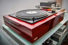 Vintage audio Lenco turntable